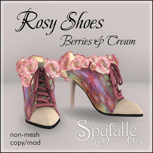 Spyralle Rosy Shoe - Berries & Cream