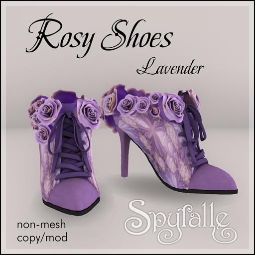 Spyralle Rosy Shoe - Lavender