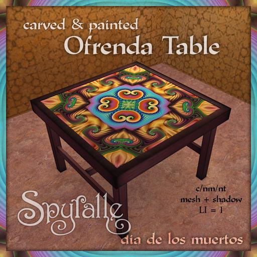 Spyralle Ofrenda Table