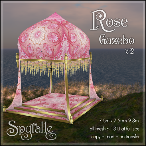 Spyralle Rose Gazebo v2