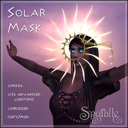 Spyralle Solar Mask